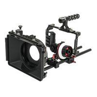 Come-TV BMPCC Basic 4K Rig Mattebox A/B Follow Focus 15 мм стержень для BlackMagic Pocket Cinema Camera (BMPCC2-A3KIT)
