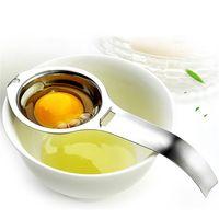 البيض فاصل الفولاذ المقاوم للصدأ البيض صفار البيض الأبيض فاصل مقسم البيض فواصل المطبخ أداة الطبخ أداة للخبز