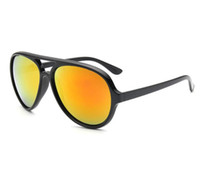 الأزياء الكلاسيكية النظارات الشمسية الرجال النساء مصمم مرآة uv400 عدسات للجنسين نظارات الشمس oculos دي سول 4125 مع مربع الحالات