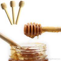 나무 꿀 교반기 8cm 15cm 커피 주스 혼합 저어 스틱 꿀 롱 스틱 차 도구 친환경 우유 저어 바 꿀 디퍼 BH1758 TQQ