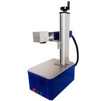 مصغرة مكتب نوع 30W الألياف الليزر آلة الوسم للمواد المعدنية وغير المعدنية علامات آلة النقش بالليزر آلة آلة حفارة الألياف