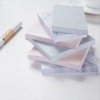 Цвет мрамора Блокнот самоклеющиеся Memo Pad Sticky Notes Закладка школы Управление снабжения