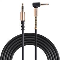 VBESTLIFE Ses Kabloları 3.5mm Male Aux Kablosu L-Şekilli 1 m Geri Çekilebilir Kordon için Araba Ses Hoparlör Kulaklık Bahar Kabloları Ücretsiz Nakliye