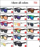 Vintage QS im Freiensport-Sonnenbrille-Frauen-Mann-Marken-Designer Fashion Top Männer Brille 731 Femake Schnell Big Qquare Brillen oculos