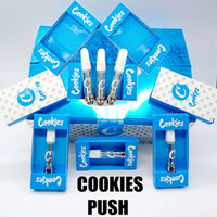 Cookies Push-Cartridges 510 Gewinde Keramik Coil Cartridge Atomizer 0,8 ml 1,0 ml Keramik Tip leeren Einweg Vape Pen Cartridge Vaporizer