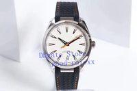 Мужские Тик Атоматический Cal.8900 часы Мужчины VS Фабрика Осевая Master каучуковый ремешок Diver 150m Часы Аква Специальности Terra Eta Наручные часы