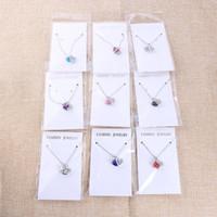 Kalp Kolye Kolye Kadınlar için Moda 925 Ayar Gümüş Zincirler Charms Takı Zirkon Kristal Elmas Rhinestone Bayanlar Aşk Kolye
