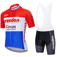 2020 EQUIPO Corendon circo ciclo Jersey 20D pantalones para hombre en bicicleta traje de verano de secado rápido de montar en bicicleta camisetas pro Maillot Culote desgaste
