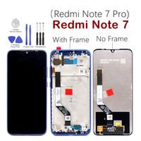 휴대 전화 터치 패널 Xiaomi Redmi에 대 한 모바일 화면 부품 참고 7 Pro 7Pro LCD 디스플레이 디지타이저 조립품 노트 7 유리