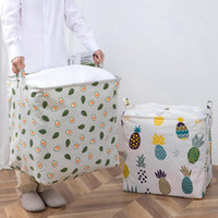 Toy Storage Baskets Drawstring Laundry Hamper with Handle Di...