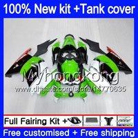 + Serbatoio per Kawasaki EX250 ZX250R 2008 2009 2010 2011 2012 Bianco Verde 201MY.48 EX250 ZX 250R EX 250 ZX250R EX250R 08 09 10 11 12 carenatura