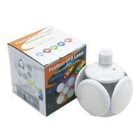 Round UFO LED ampoule 40W E27 football pliable travail d'éclairage robuste LED Night Light Super Bright 85-265V