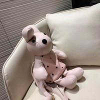 Mochila de impresión de conejo de moda coreana de descuento. Mochila de juguete de la bolsa de mensajero linda de la marca