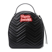 Bolsa de mujeres de la alta calidad de la manera cuero de la PU de la escuela infantil Bolsas Mochila Señora Mochila bolsa de viaje bolsa