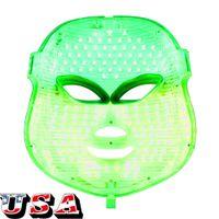 Comprar Beauty Facial Máscara LED Photon Light Therapy rejuvenescimento PDT Ganhe 1 Grátis Micro Derma rolo