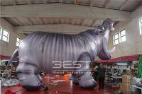 시뮬레이션 된 아티스트 풍선 하마 아트 풍선 퍼레이드 광고 이벤트 퍼레이드 파티 단계에 대 한 아름 다운 풍선 코끼리