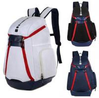 Nouveau sac à dos de l'équipe nationale olympique des femmes des hommes Le Sacs Designer Adolescent Noir Blanc Bleu extérieur Basketball Sac à dos 4 couleurs