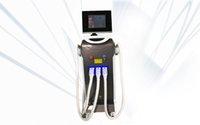 سعر المصنع متعددة الوظائف جهاز صالون تجميل الإلكترونية ضوء RF + IPL لإزالة الشعر الصمام الثنائي ف التبديل الثاني ليزر YAG آلة الجمال