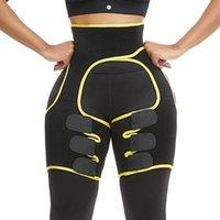 La cintura del neopreno Trainer talladora que adelgaza la correa delgada del muslo de la pierna del condensador de ajuste del sudor Fajas quema de grasas Comprimir la correa ajustable