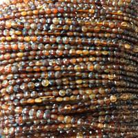 Arancione Genuine Natural Spessartite mano granato taglio sfaccettato piatti monete piccole perle collane o bracciali 4 millimetri 5 millimetri 6 millimetri 06.167