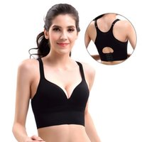 Women Sports Bra Racerback Seamless Wireless Bras Sleep Top ...