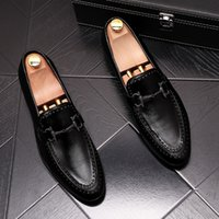 Men' s Shoes Fashion Men Loafers Men Shoes Luxury Dress ...