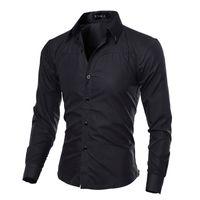 2018 Ünlü Marka Erkek Gömlek Uzun Kollu Casual Slim Fit Erkek Gömlekler Onay Ekose Camisa Sosyal Masculina Artı Boyutu 5xl