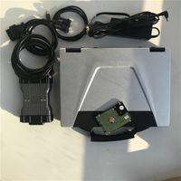 أعلى MB ستار C6 MB التشخيص SD ربط C6 OEM DOIP التشخيص مع لينة وير 2020.06V HDD المثبتة في CF52 محمول CF52 توف بوك سي الماسح الضوئي