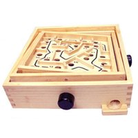 Rotating Wooden Maze Board Game Controller Ball In The Maze ...