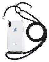 Прозрачный сотовый телефон чехол с 1,6М талрепом для iphone 11 Pro XS Max ХГ 8 7 TPU небьющегося крышки телефона и мода талрепа