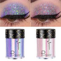 Brillo sombra de ojos a prueba de agua 36 colores brillo sombra de ojos en polvo suelto Festival Cuerpo láser de maquillaje Maquillaje Yeux