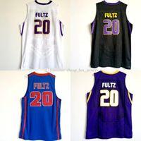 남자 농구 Markelle 20 퓰츠 대학 2020 허스키 유니폼 남자 퍼플 블랙 화이트 컬러 팀 대학 Markelle 퓰츠 저지 판매