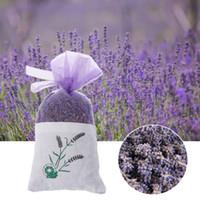 Doğal Lavanta Bud Çiçek Poşet Çanta Aromatik Araba Ev Hava Yenile Kurutulmuş