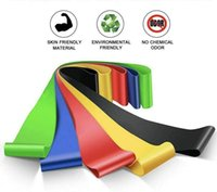 5 Colors Resistance bands Resistances Fitness Exercise Loop Bands with 5 Different Resistance Levels
