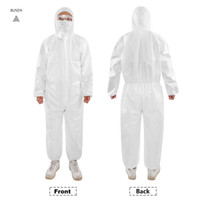 One- Piece Protective Suit with Mask Anti- Bacteria Protection...