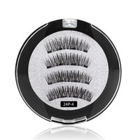 7styles New Four magnetic magnet false eyelashes free glue n...