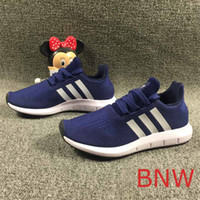 Kids Teenager Designer Shoes 2019 New Fashion Solid Color Sn...