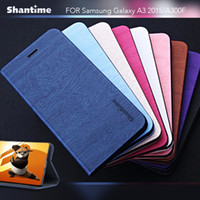 Pu Leather Phone Case For Samsung Galaxy A3 2015 Flip Case F...