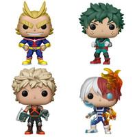 My Hero Academia funko Pop Action-Figur Spielzeug 4 Arten PVCanimeabbildung Puppe Spielzeug mit Box Kinderspielzeug ZSS264