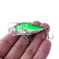 Hengjia 100 pcs cigarra dura mosca pesca isca 40mm inseto flutuante pescar tackle crankbait isca isca 4cm 6.4g 8 # ganchos kc001 100 pcs