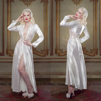 Ivory Bridal Bathrobe Sleepwear Nightgown Ruffles Party Bath...