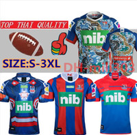 2019 KNIGHTS SINGLET domicile maillots de rugby 19 20 Thaïlande qualité maillot de maillot de rugby à XV maillot maillot taille maillot chemises taille S-3XL