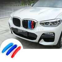 ABS Front Grill Grille Insert Trim Cover 3pcs For BMW X3 X4 G01 G02 2018-2019