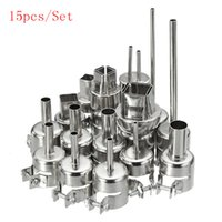 15pcs Set 852 850 Nozzle Hot Air Stations Gun Rework BGA Sta...