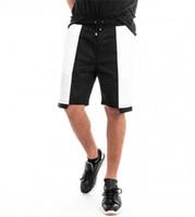 Shorts Mode Panelled elastische Taillen-Relaxed Shorts Plus Size Sommer Hiphop Herrenmode Herren Designer-Strand