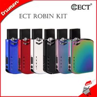 Kit originale ECT Robin Pod Kit Kit 420mAh All-in-One Kit Vape con cartuccia da 0,5 ml per olio denso 100% autentico