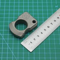 SFK Single Finger 15mm dicke Titanlegierung Verteidigung der Finger Tiger Selbstverteidigung Ring Schnalle EDC zum Wohn Fenster Brechwerkzeug Flucht