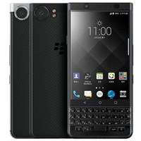 تم تجديده الأصلي blackberry keyone 4.5 بوصة اوكتا الأساسية 3 جيجابايت رام 32 جيجابايت rom 12mp كاميرا مقفلة 4 جرام lte الروبوت الهاتف الذكي مجانا dhl 10 قطع