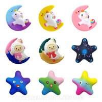 Moon and Stars Squishies Galaxy Squishy Slow Rising Unicorn ...