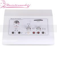 Multi-Function 4em1 pele Skin Care massageador rejuvenescimento máquina HF galvânica Vacuum Para Facial Beauty Care Equipment